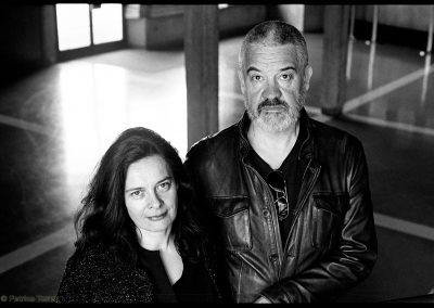 Christelle Berthevas et Arnaud des Pallières / 2017