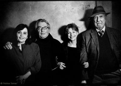 Jeanne Goupil, Joël Séria, Agathe Natanson et Jean-Pierre Marielle / 2012