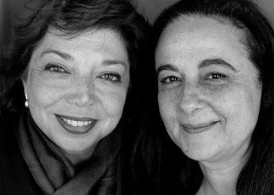 Leïla Shahid et Simone Bitton / 2005