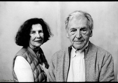 Michèle Ray Gavras et Costa Gavras / 2017
